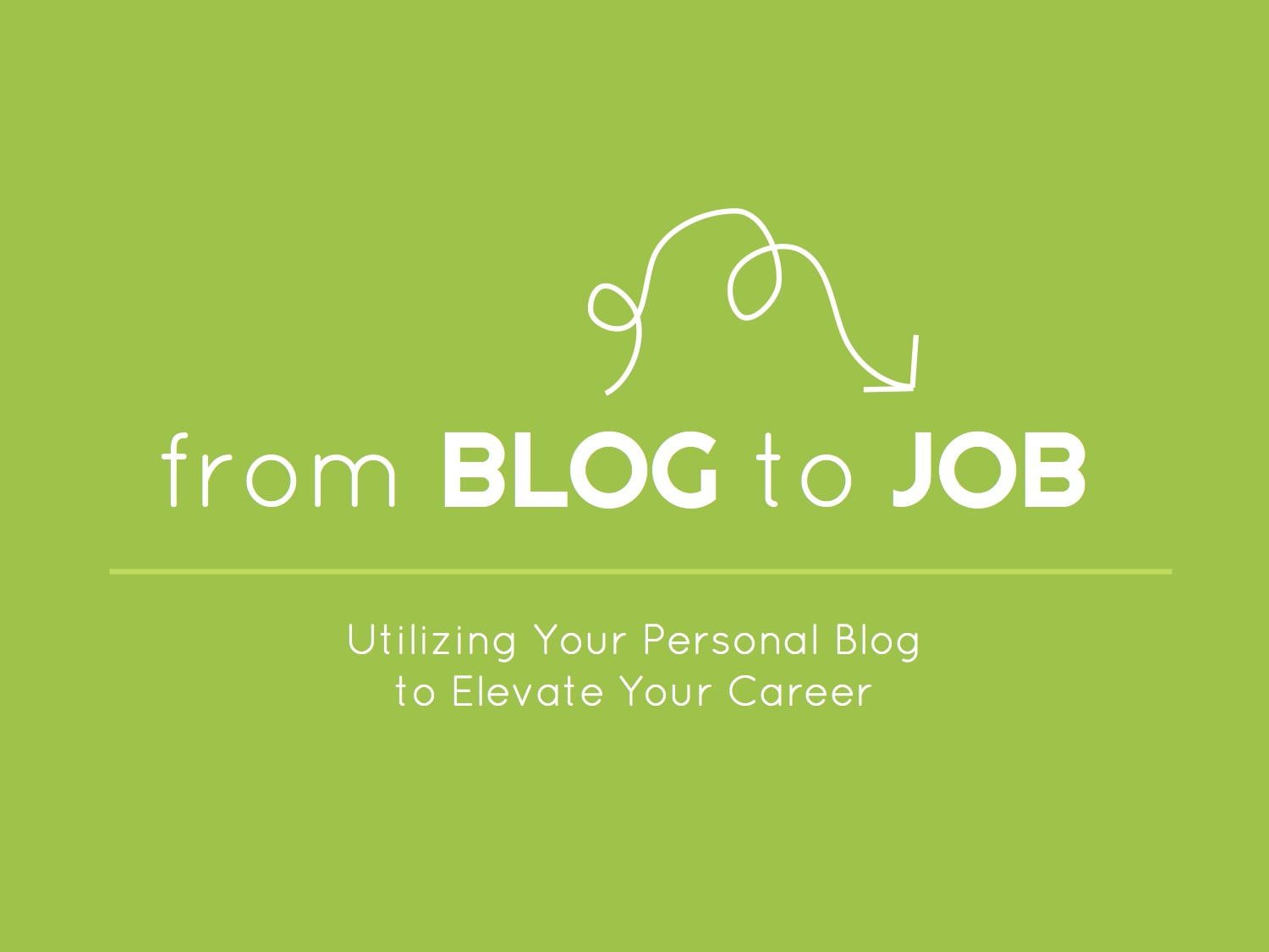 blog to job copy